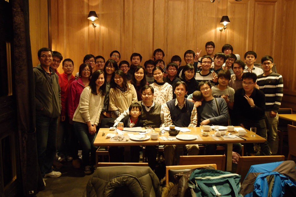 [聚餐] 103年度 第一學期 – 實驗室期末聚餐