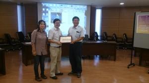 [獲獎] 運用於高階量測儀器之積體電路設計競賽 – 優等獎
